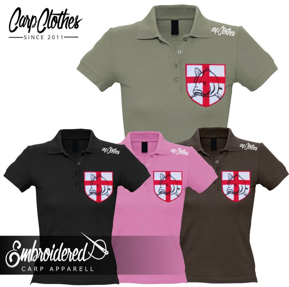 021 LADIES EMBROIDERED POLO